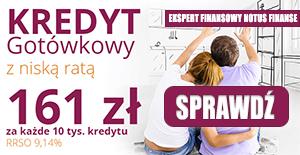 Kredyt gotówkowy 2021 - promocja Notus Finanse