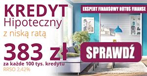 Kredyt hipoteczny 2021 - promocja Notus Finanse