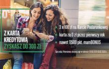 BNP Paribas - Karta kredytowa z bonem 300 zł do Allegro
