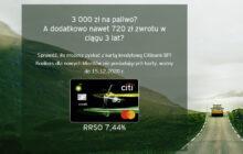 Karta kredytowa Citibank-BP do 3000 zł na paliwo
